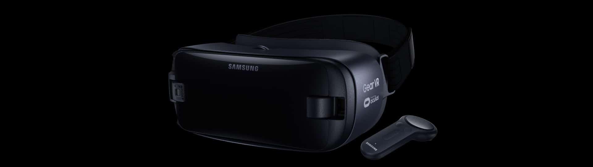 Die neueste Version der Gear VR für das Galaxy S8. (Foto: Samsung)