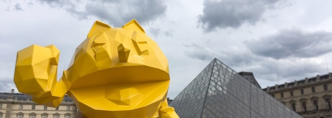 Pac-Man x Orlinski: Kultpille wird zur Luxus-Skulptur für die Wohnung