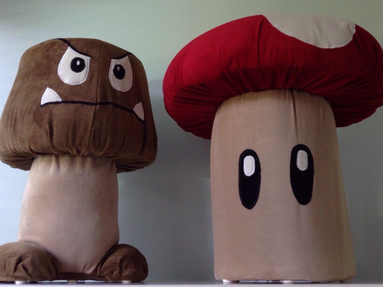 Super Mario Bros.: Setzt euch auf Pilze und Gombas!