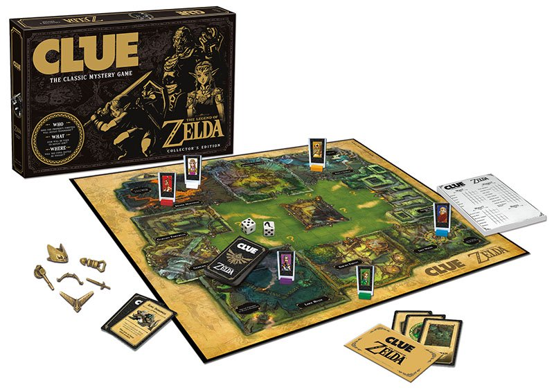 The Legend of Zelda Cluedo: Wer hat das Triforce gestohlen?