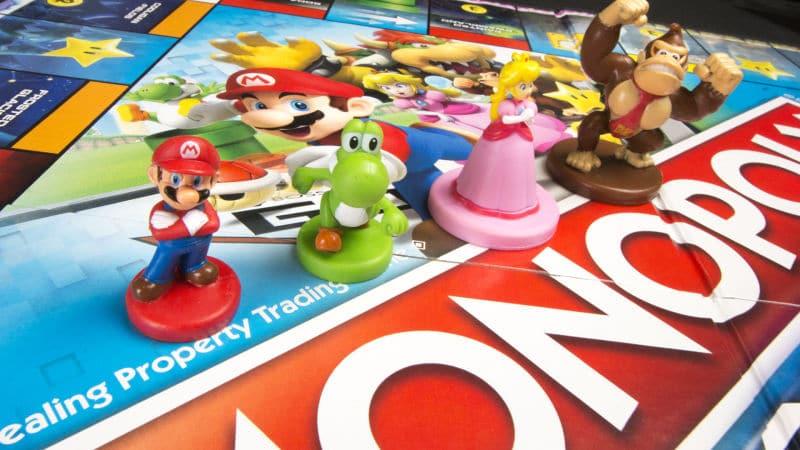 Monopoly Gamer: Super Mario erlebt Bosskämpfe auf dem Spielbrett