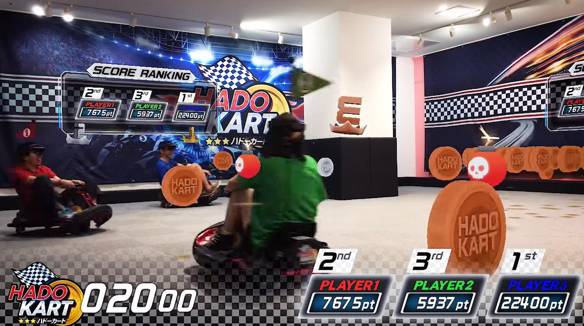 HadoKart: Mario Kart mit Microsoft HoloLens spielen