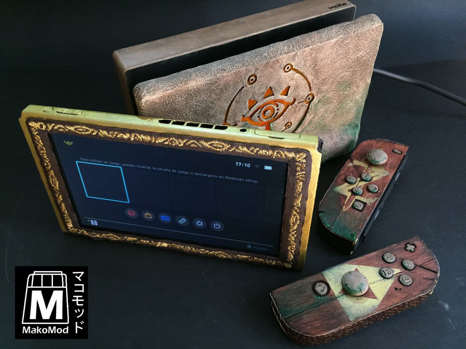 Nintendo Sheikah Switch: Außergewöhnliche Konsole in The Legend of Zelda-Optik