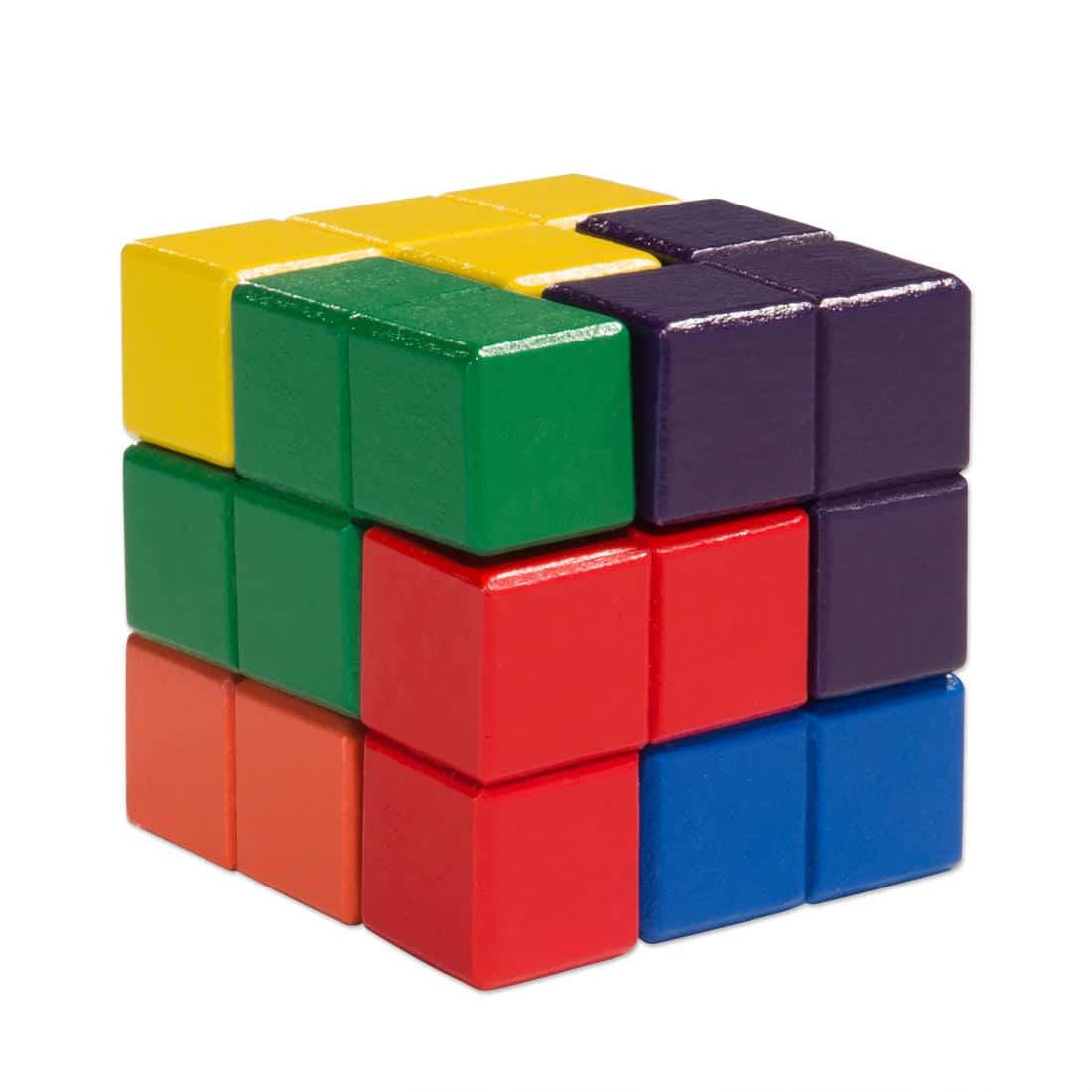 Brain Teaser Puzzle Tetrominos: Holz-Tetris für Knobelfreunde