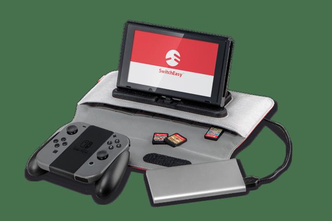 PowerPack: Mobile Ladestation und Case für Nintendo Switch