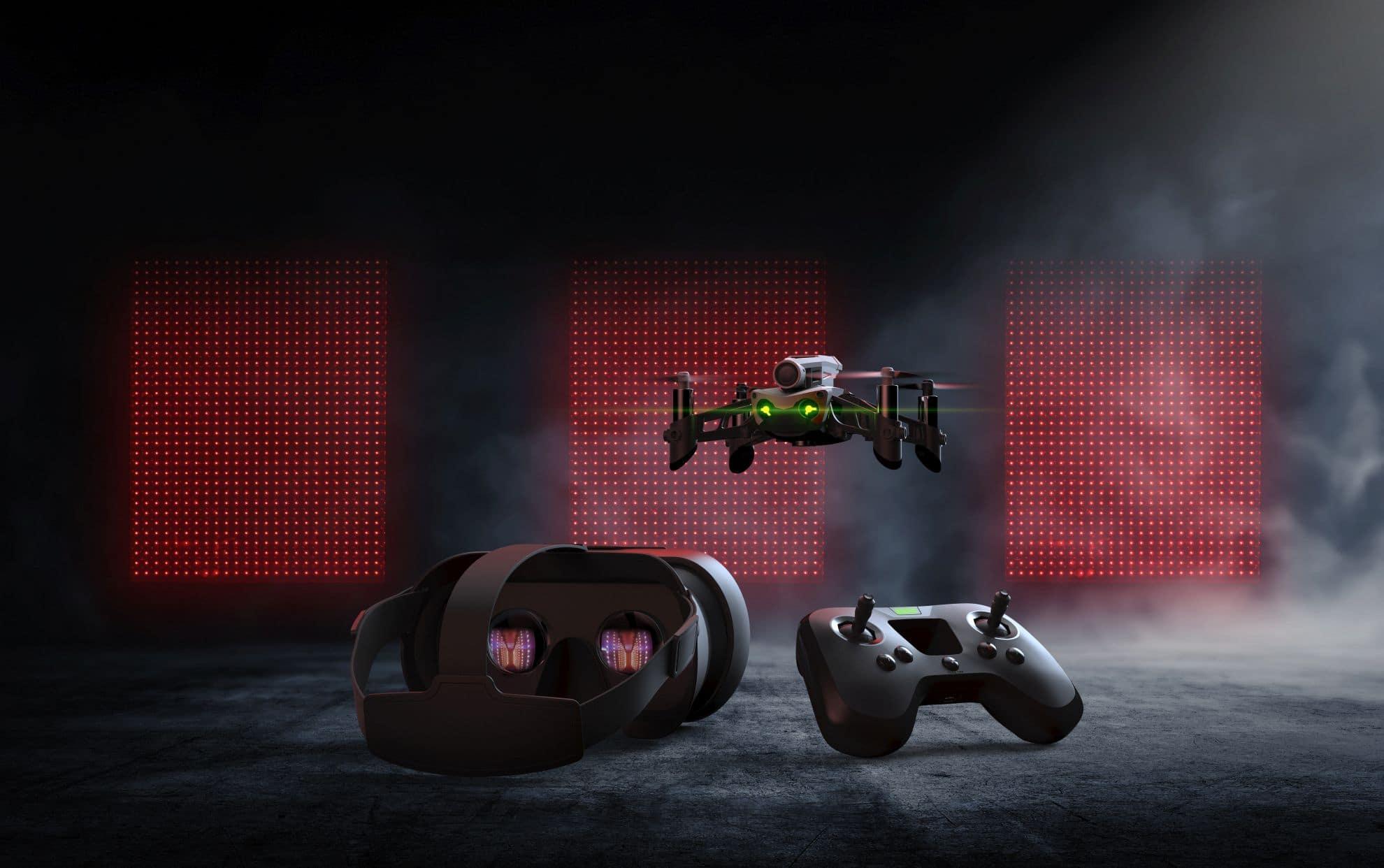 Drohne für Ego-Sicht. (Foto: Parrot)