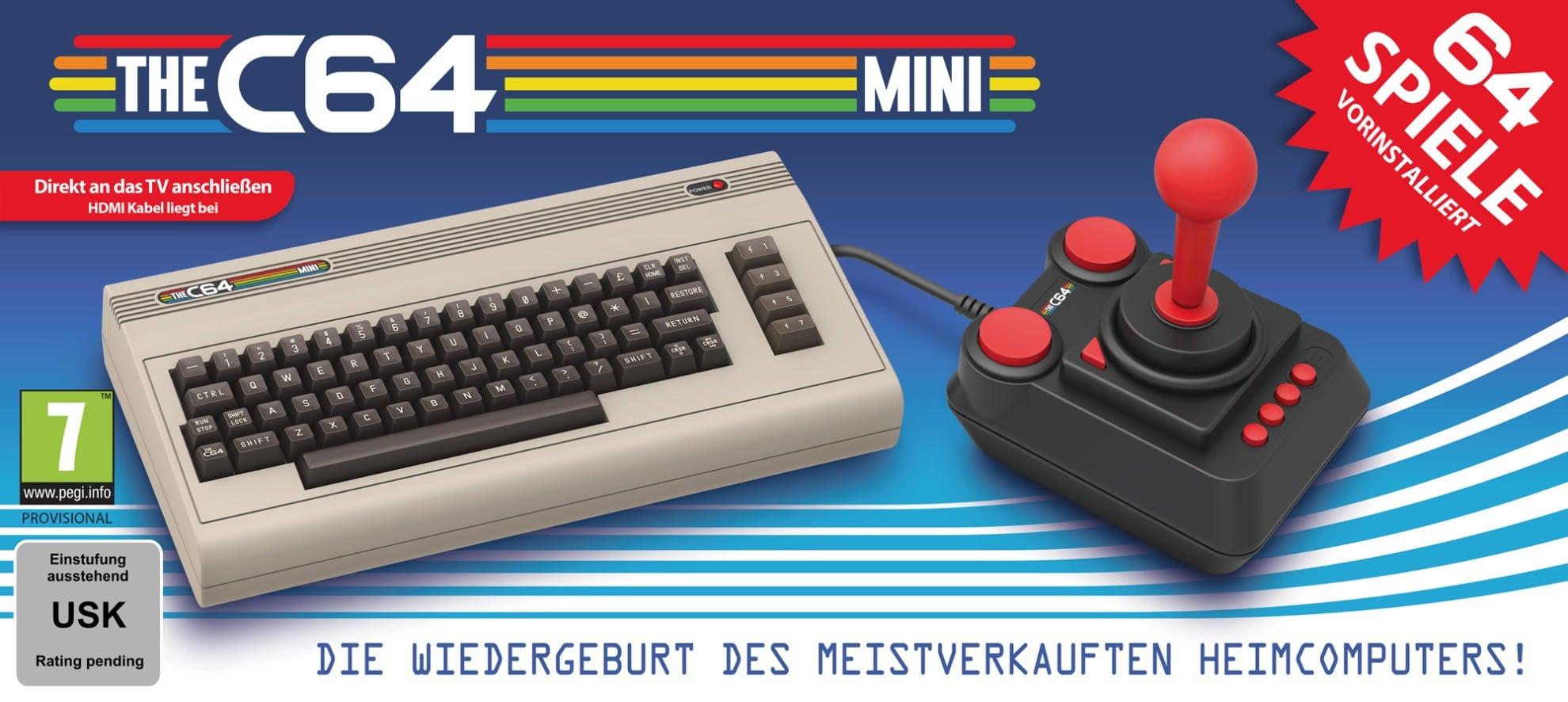 TheC64 Mini: Der Brotkasten kehrt zurück!