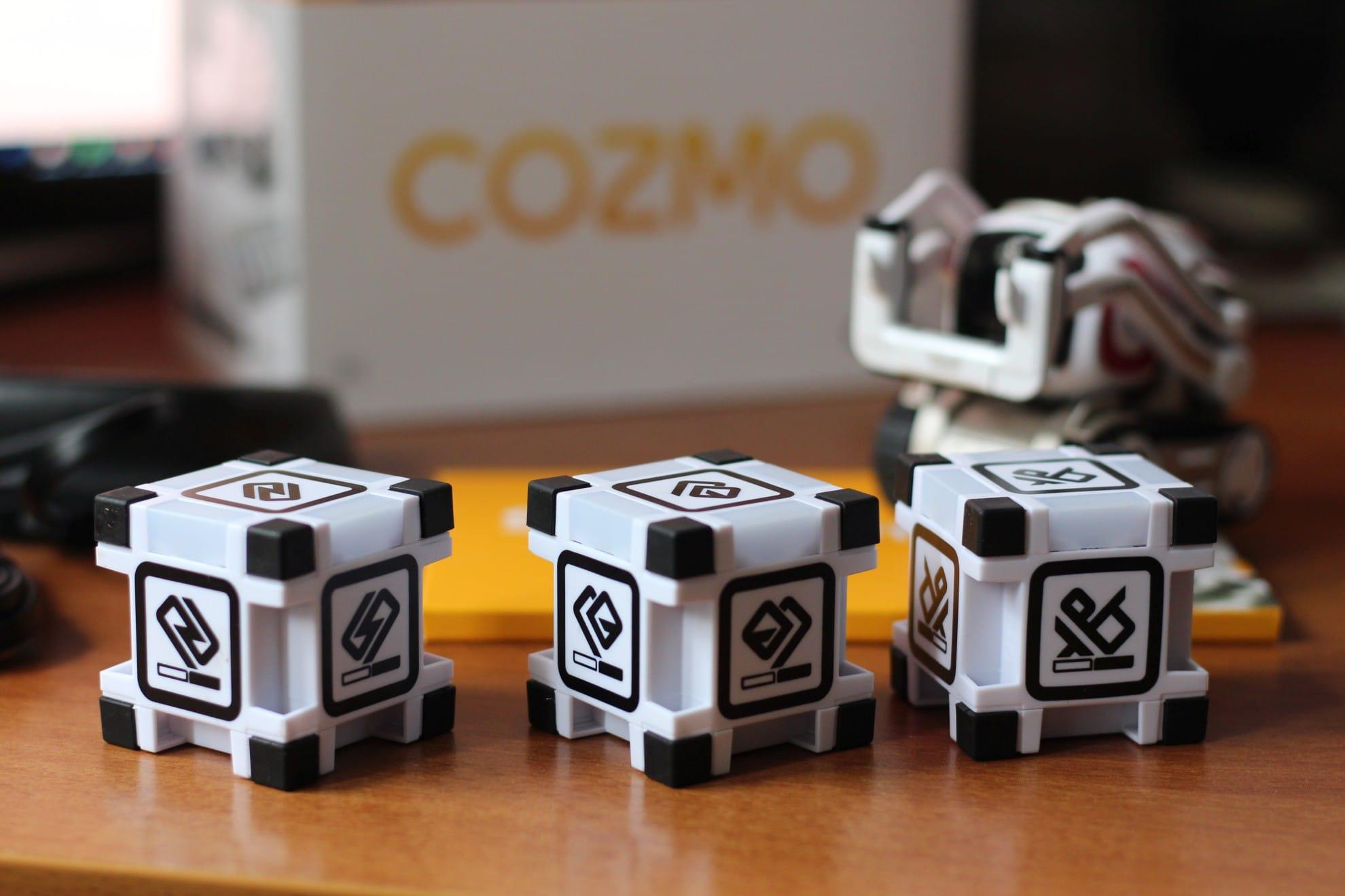Die Würfel bereichern Cozmo sehr. (Foto: GamingGadgets.de)