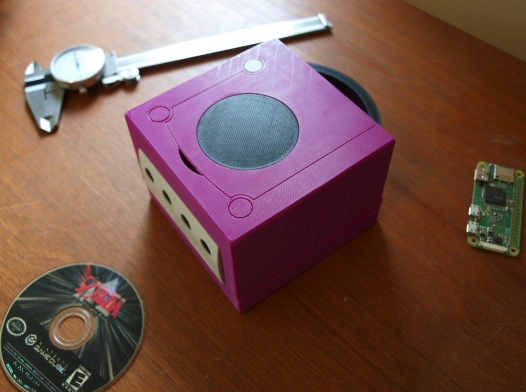Ein echter Gamecube? Nope. (Foto: Thingiverse)