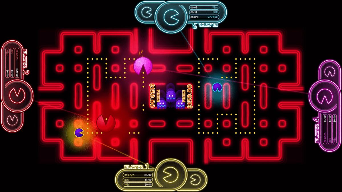 Orientiert sich spielerisch an Pac-Man Battle Royale. (Foto: Gamblit Gaming & Bandai Namco)