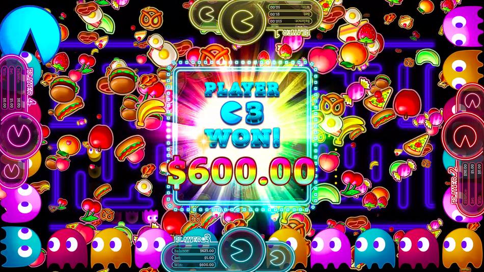 Hier geht es um Geld! (Foto: Gamblit Gaming & Bandai Namco)