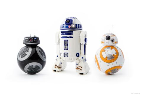 Star Wars: R2-D2 und BB-9E als Mini-Roboter
