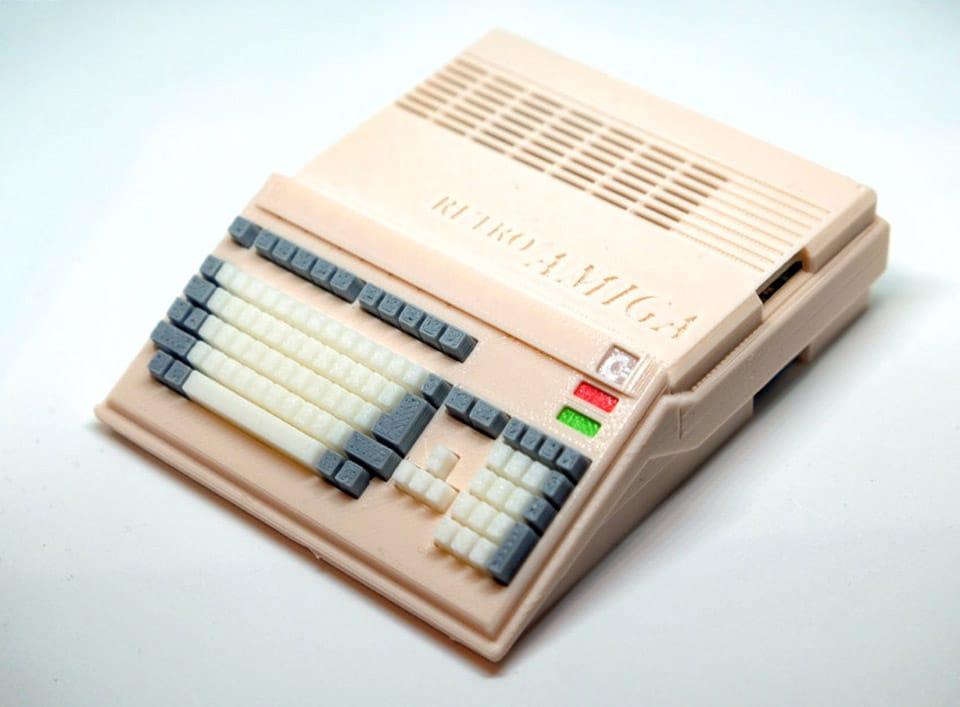 Dieser Amiga 500 weckt Erinnerungen. (Foto: RetroPiCases)
