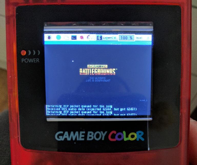 Wie jetzt? Auf dem Gameboy Color läuft ein PC-Multiplayer-Titel? (Foto: Mike Darby)