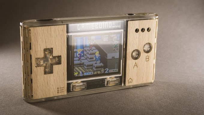Gamebuino Meta: Retro-Handheld mit Leuchteffekten