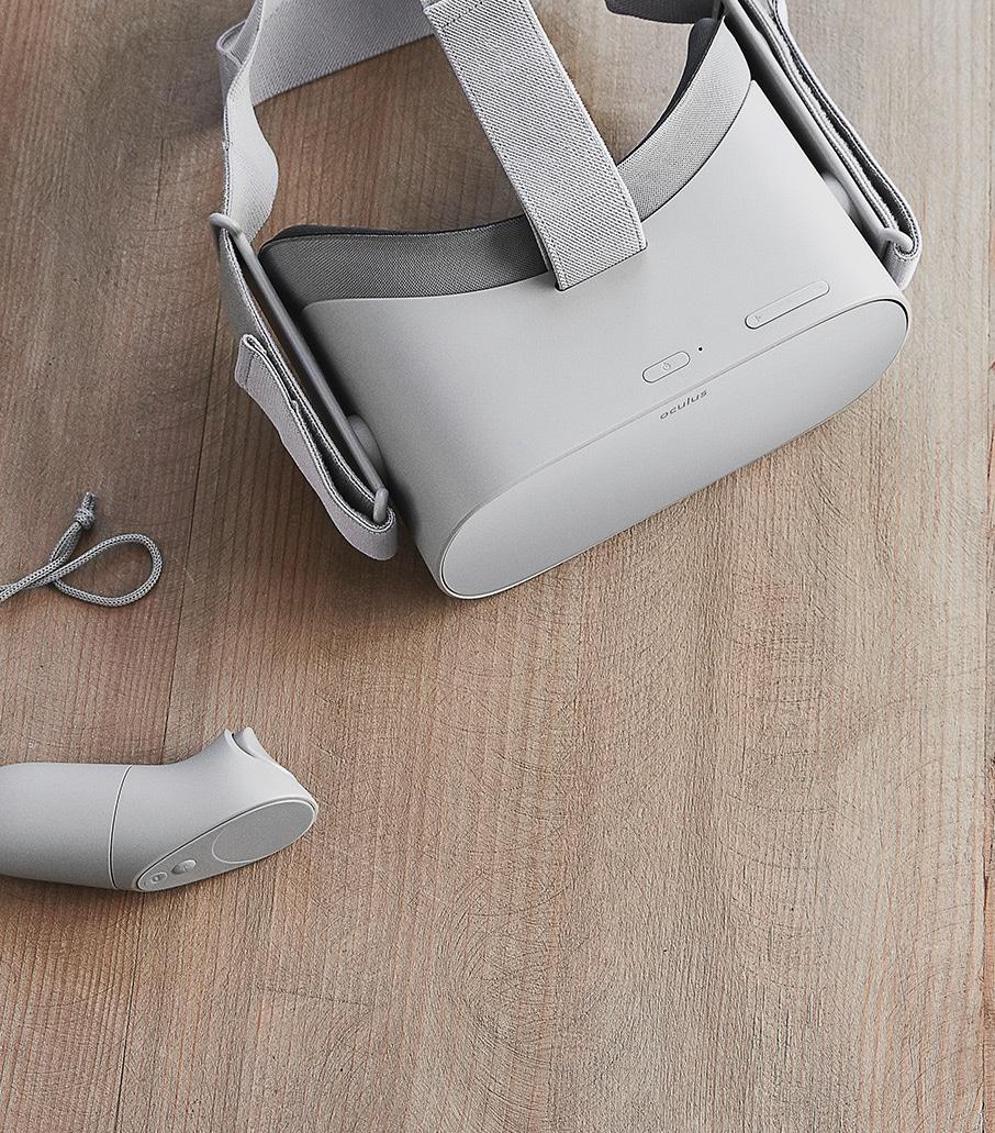 Ein Controller liegt der Oculus Go auch bei. (Foto: Oculus VR)