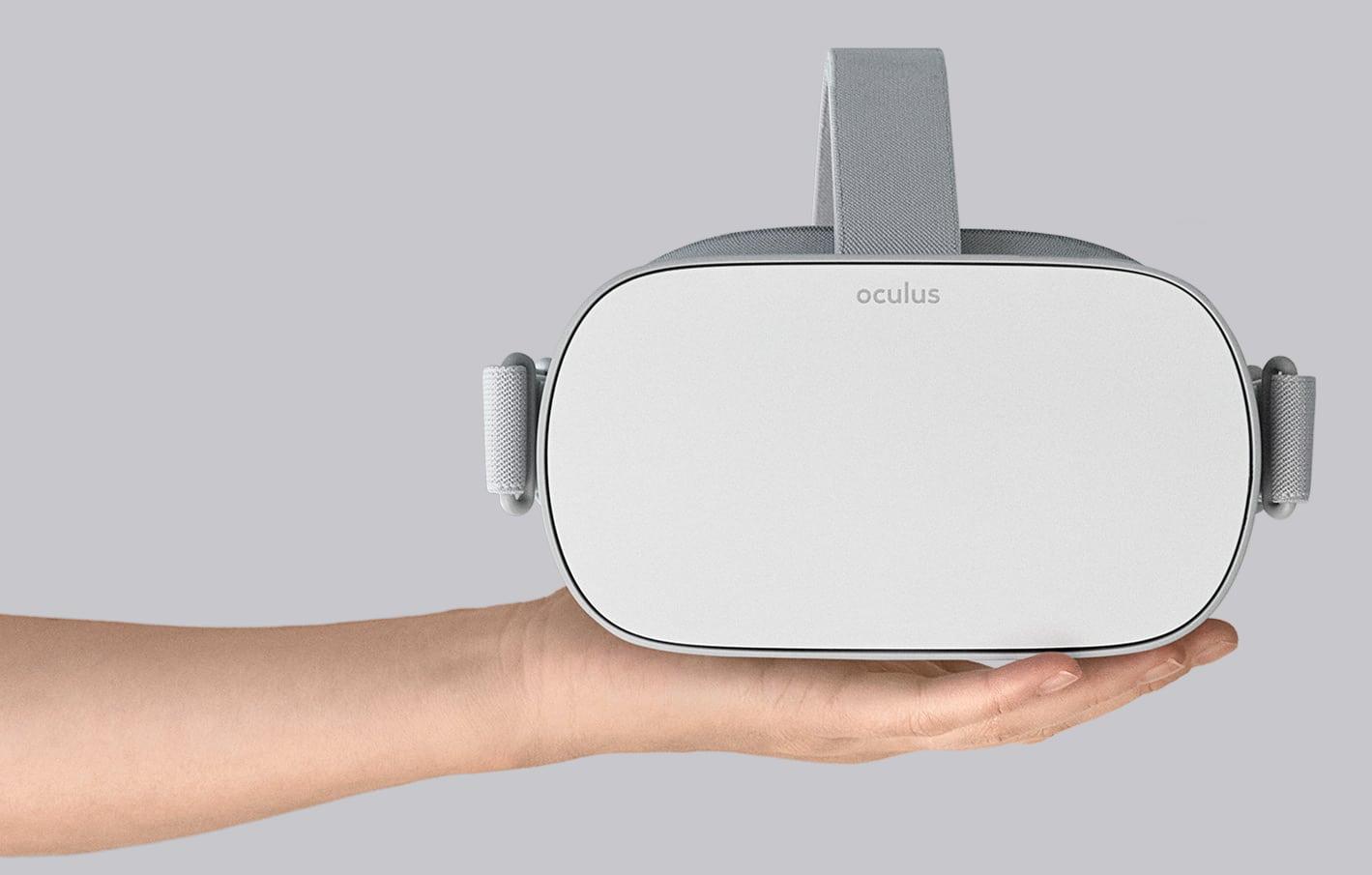 Oculus Go: Bringt die 200-Dollar-VR-Brille neuen Schwung?