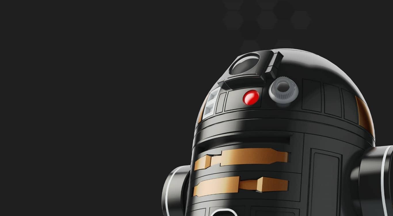 Schon etwas schicker als der andere R2... (Foto: Orbotix)