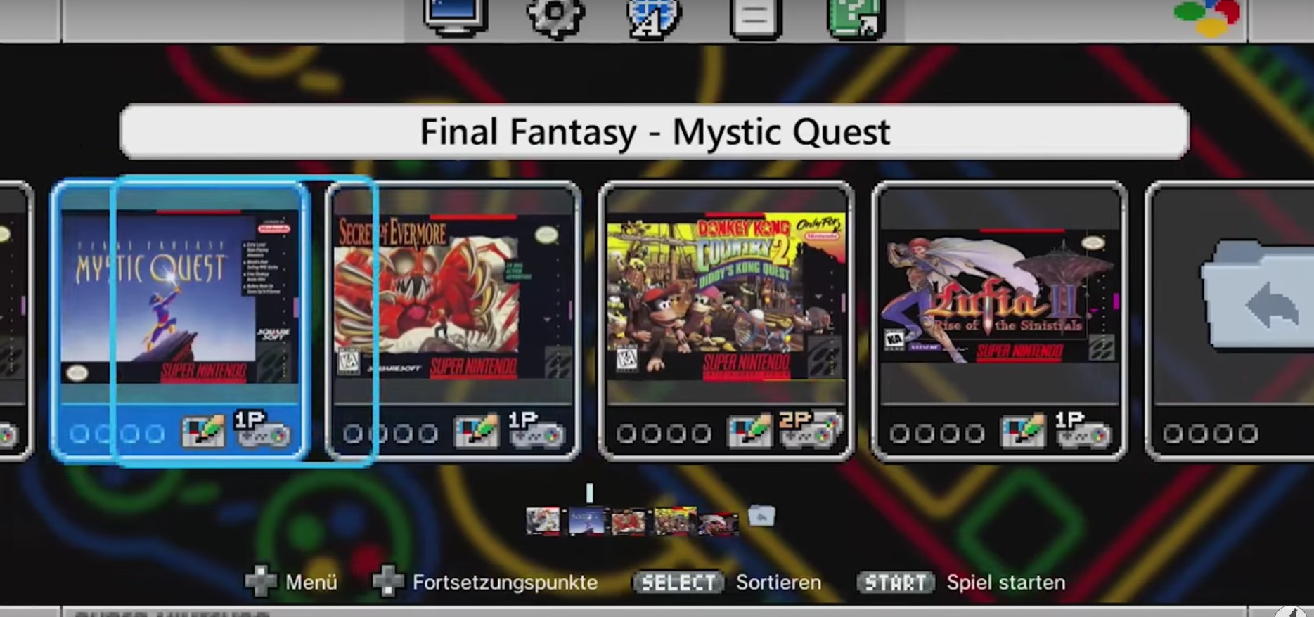 Weitere Spiele für euer SNES Mini? So geht es. (Foto: Screenshot)