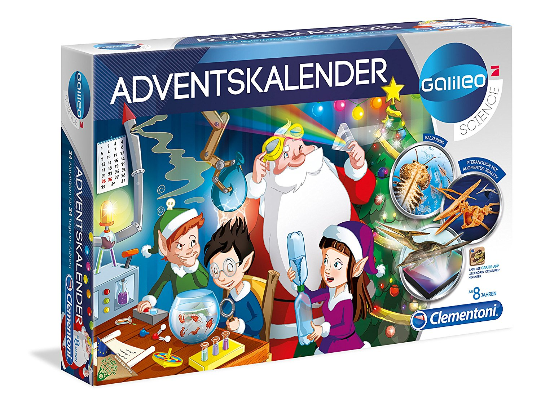 Der Galileo Adventskalender. (Foto: Clementino)