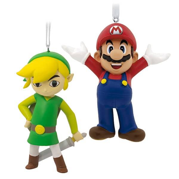 Mario und Link zum Aufhängen. (Foto: ThinkGeek)