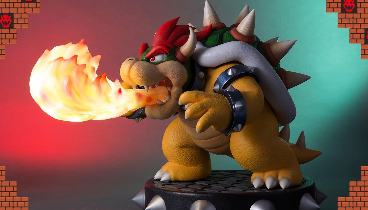 Super Mario Bros.: Bowser als martialische Sammelfigur