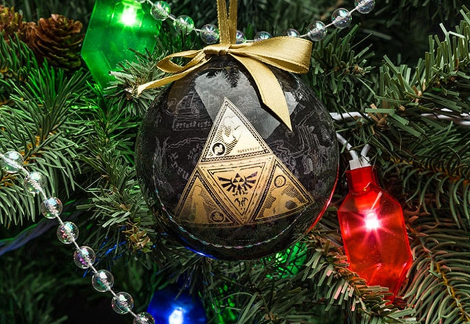 Christbaumkugeln mit The Legend of Zelda-Motiv. (Foto: ThinkGeek)