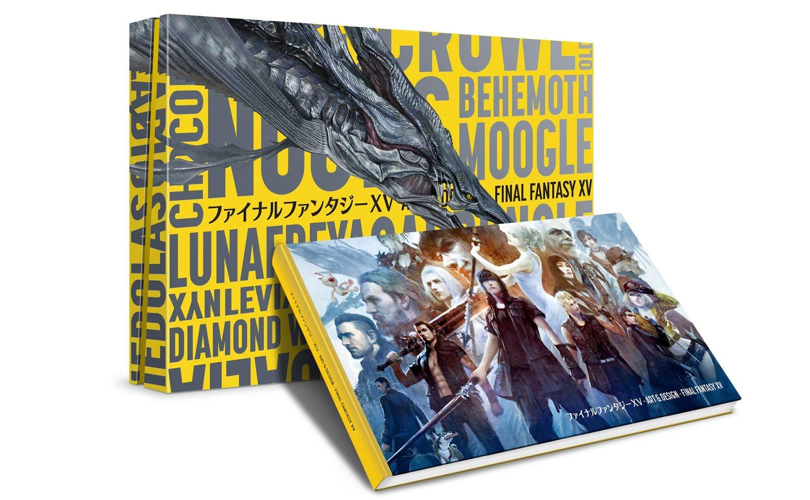 The Art & Design of Final Fantasy XV
