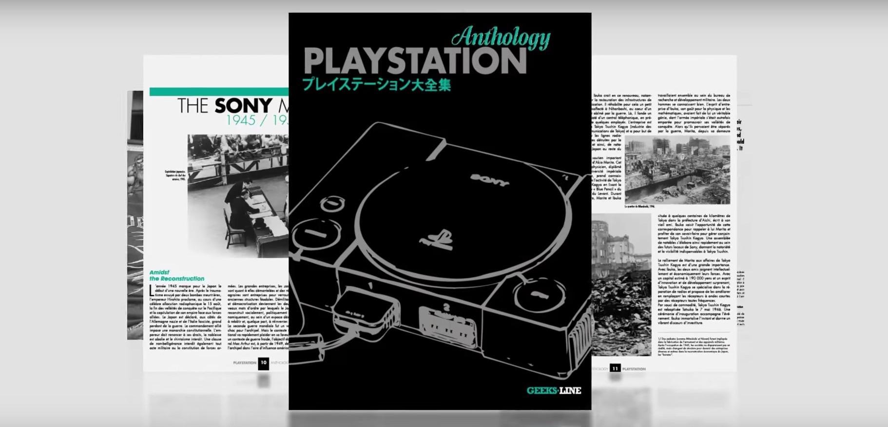 Die PlayStation Anthology stellt die erste Sony-Konsole ausgiebig vor. (Foto: Geeksline Publising)