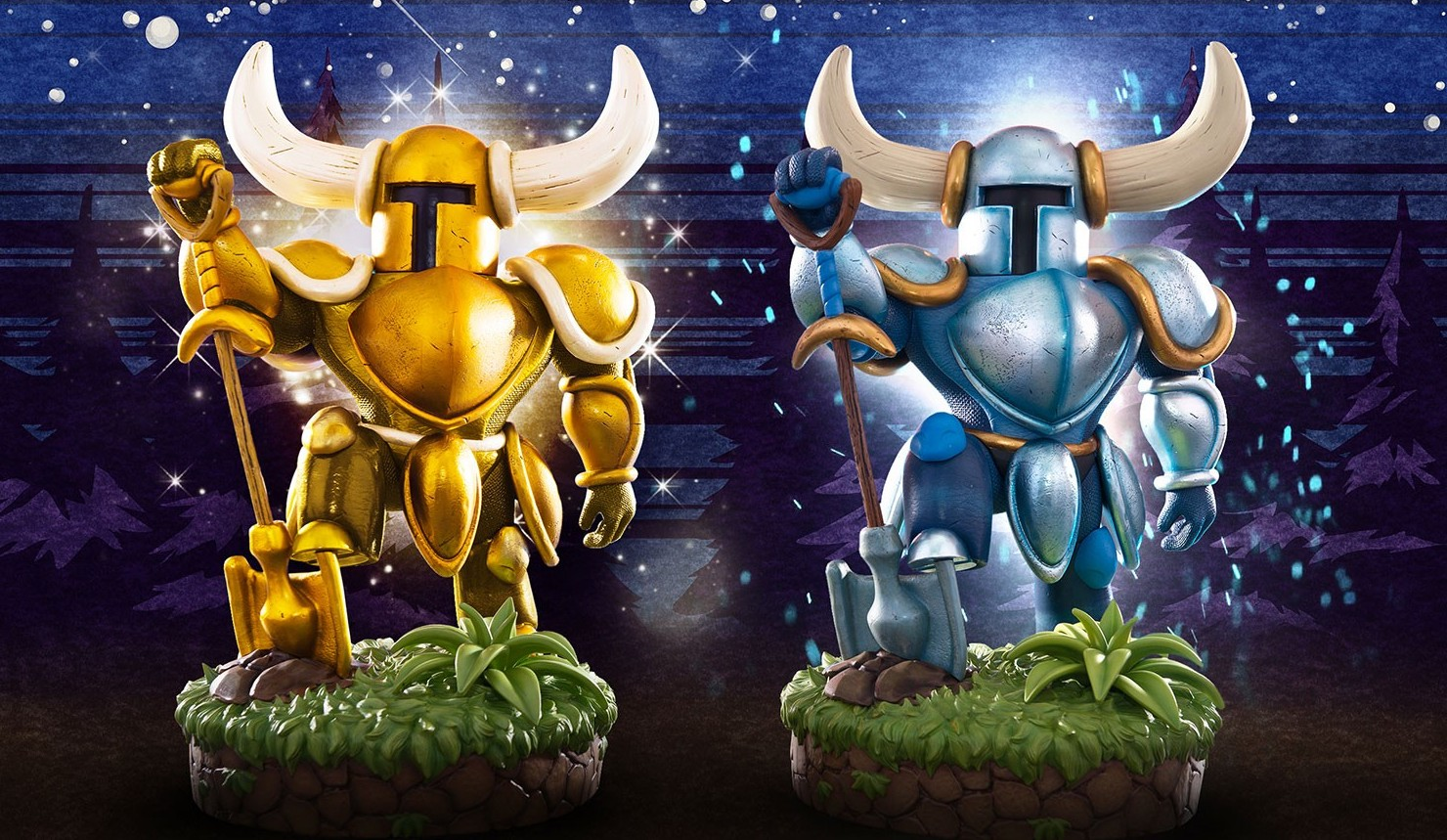 Der Shovel Knight als Sammelfigur. (Foto: First 4 Figures)