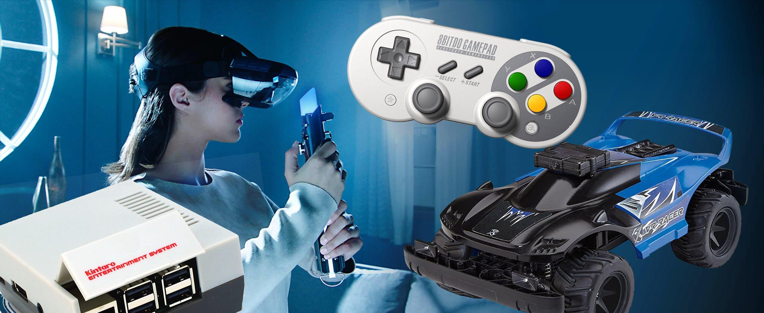 Coole Gaming Gadgets zu Weihnachten.