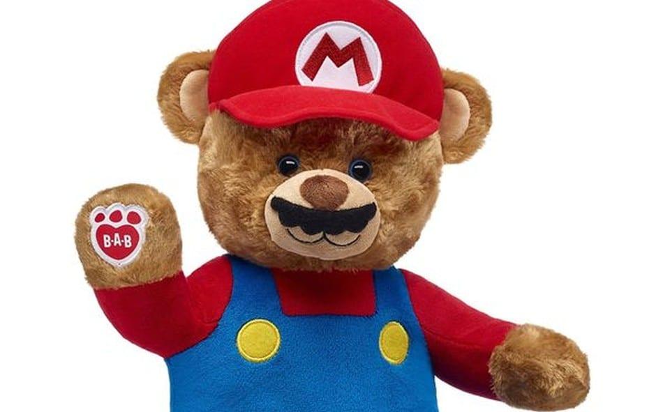 Mario als Bär? Was soll das? (Foto: Build A Bear)