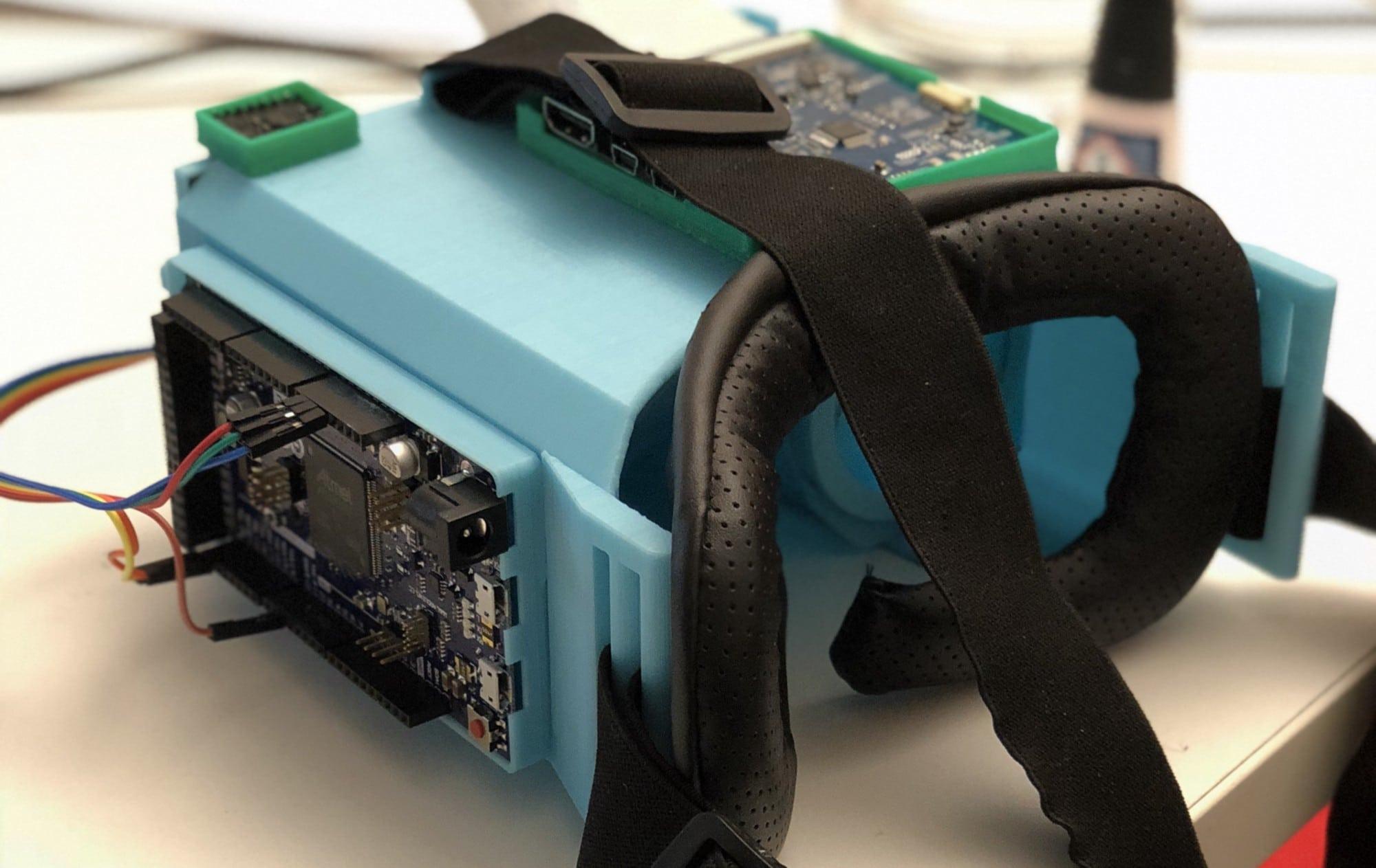 Diese VR-Brille entstand in Eigenregie. (Foto: Github)