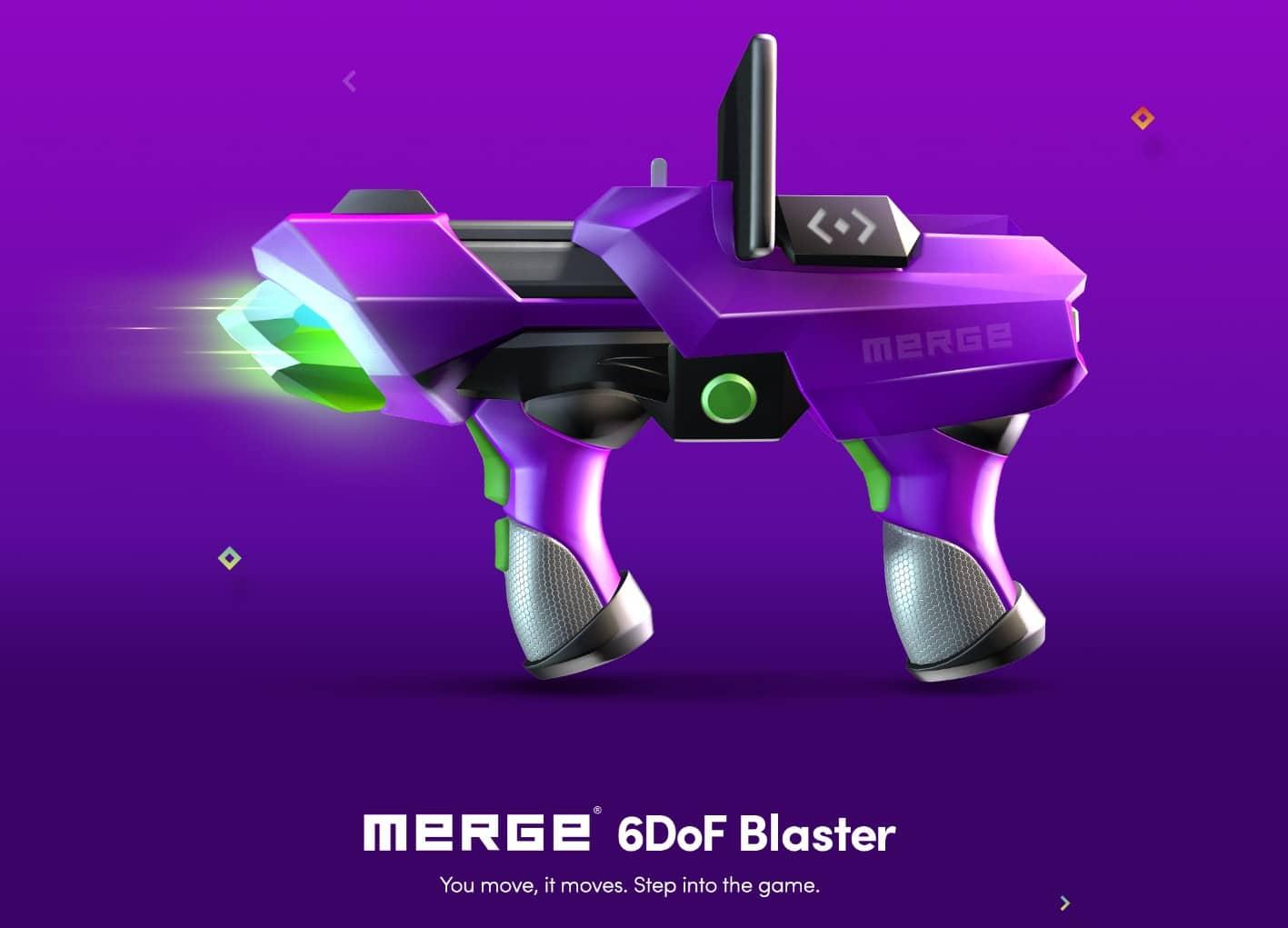 Merge 6DoF Blaster: Smartphone wird zur Waffe