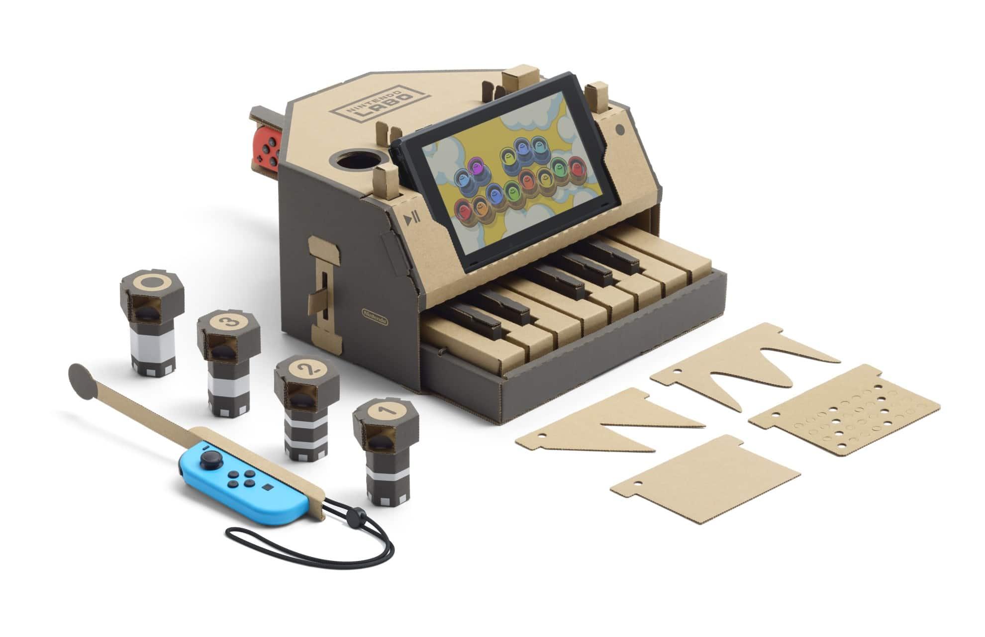 Nintendo Labo: Baut Roboter und Spielzeug aus Pappe