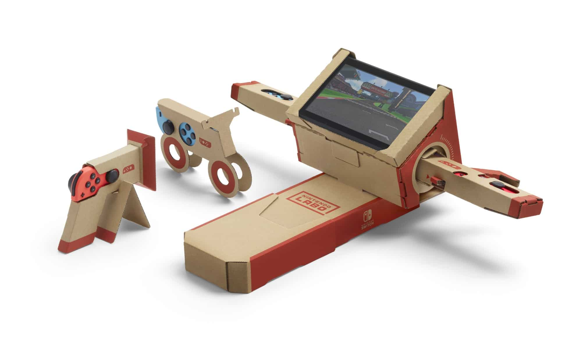 nintendo labo baut roboter und spielzeug aus pappe. Black Bedroom Furniture Sets. Home Design Ideas