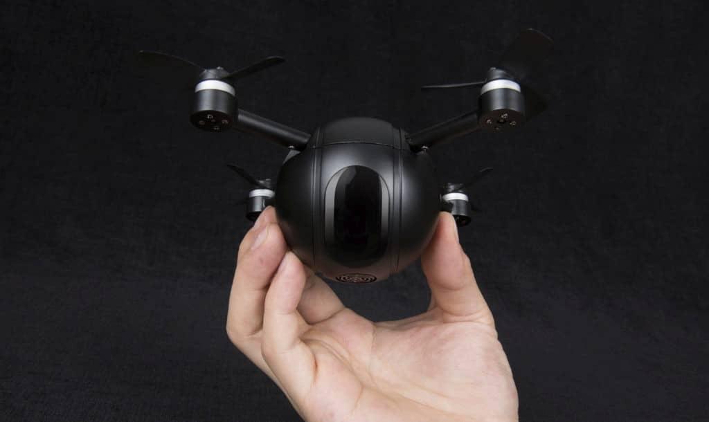 Pitta: Drohne, Actioncam und Überwachungskamera