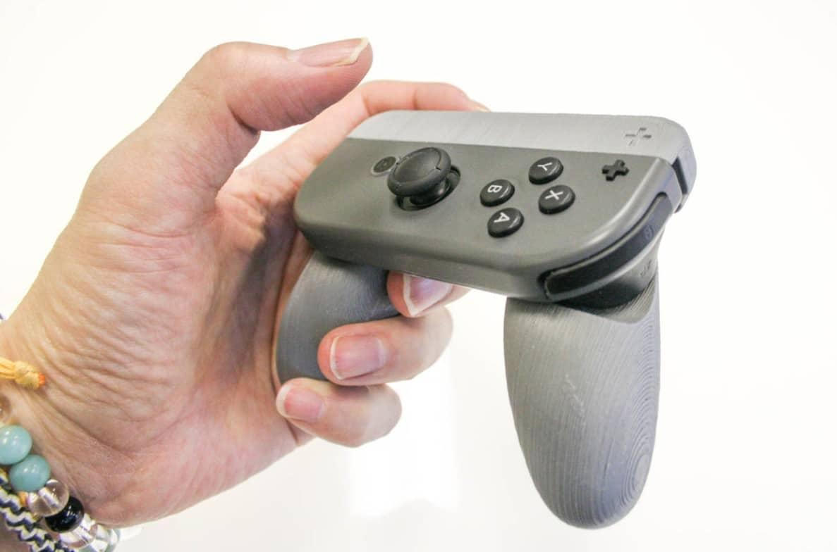 DIY Nintendo Switch Joy-Con Grip: Druckt euch Controller-Griffe