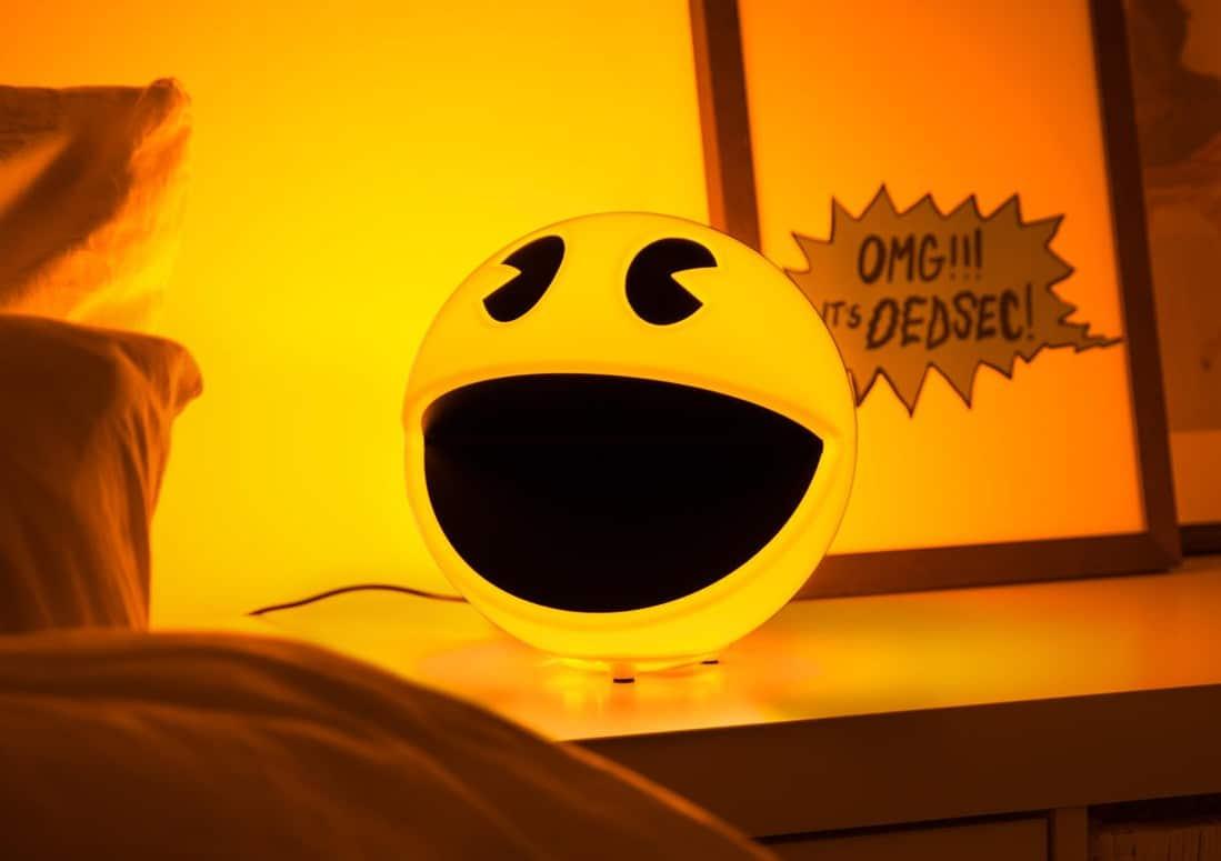 Sieht sie nicht süß aus, die Pac-Man Lampe? (Foto: GetDigital)