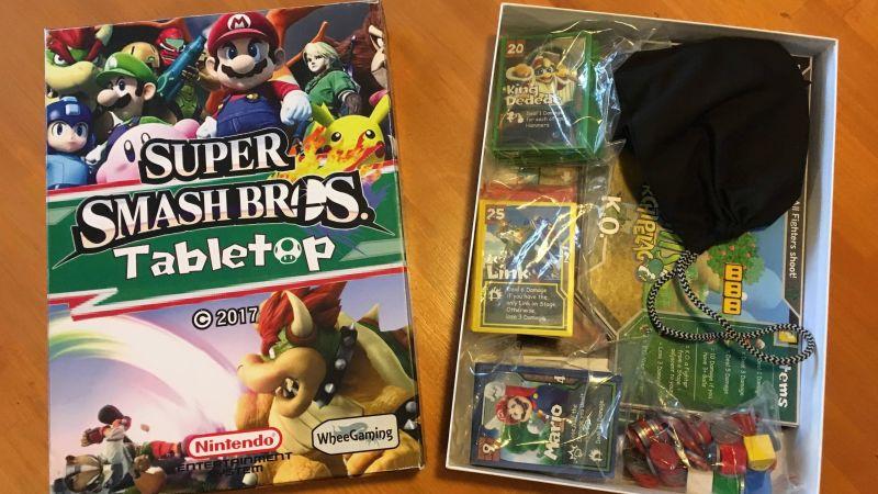 Super Smash Bros. Brettspiel. (Foto: jowhee13)