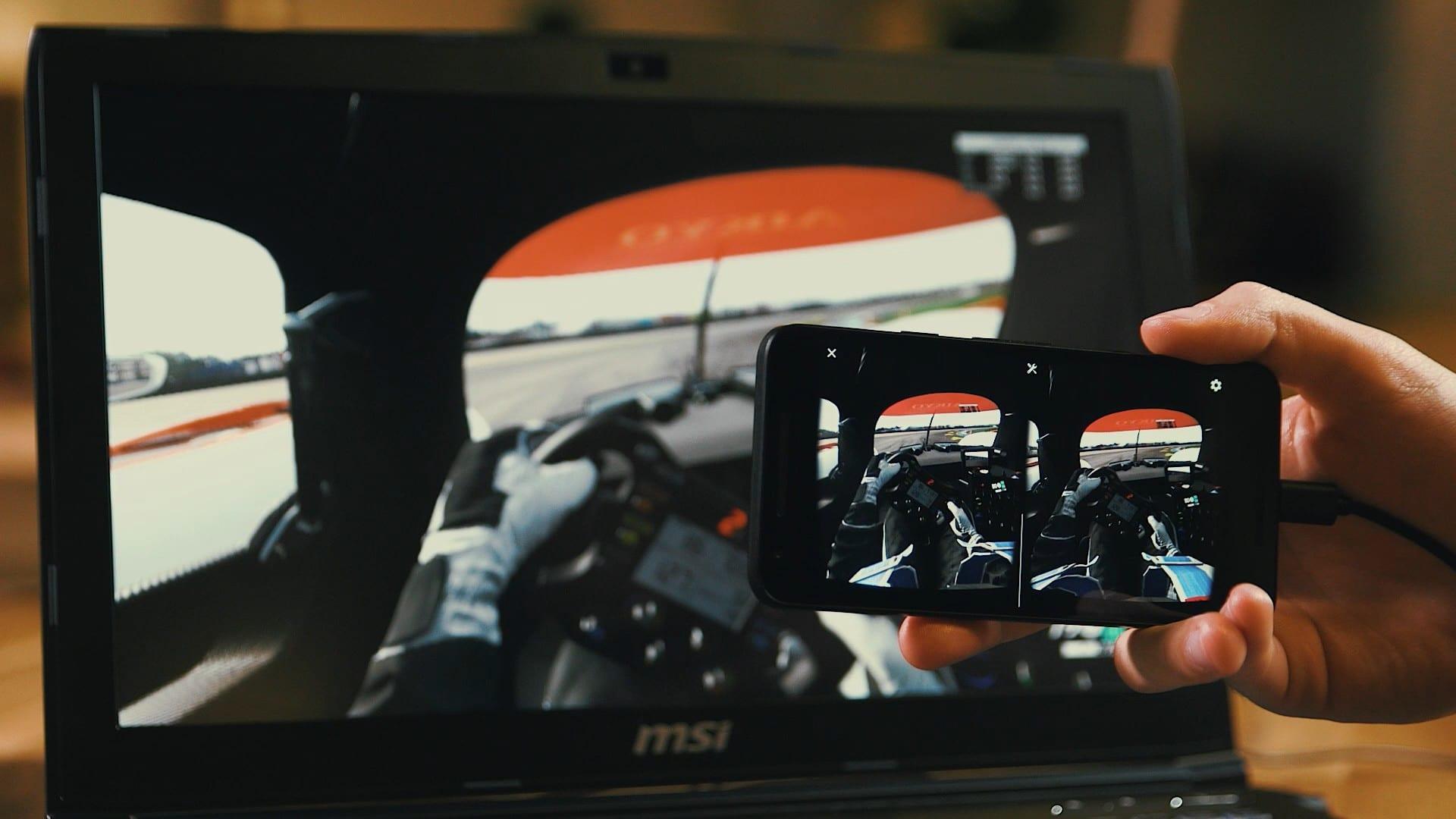 Das Smartphone müsst ihr natürlich noch in eine VR-Brille stecken. (Foto: Riftcat)