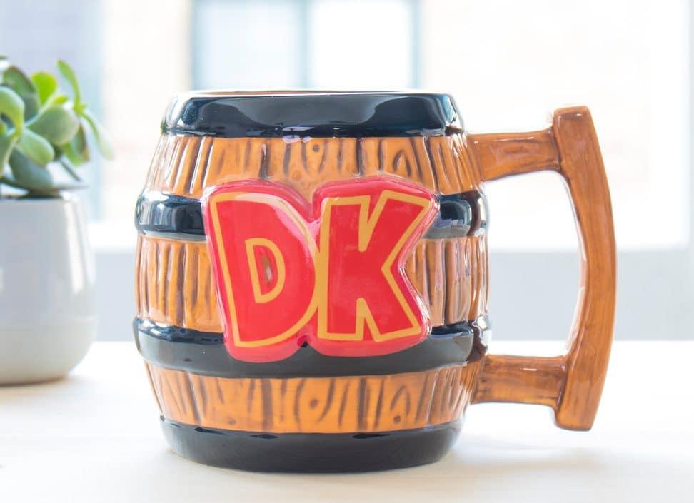 Donkey Kong als Tasse? (Foto: Firebox)