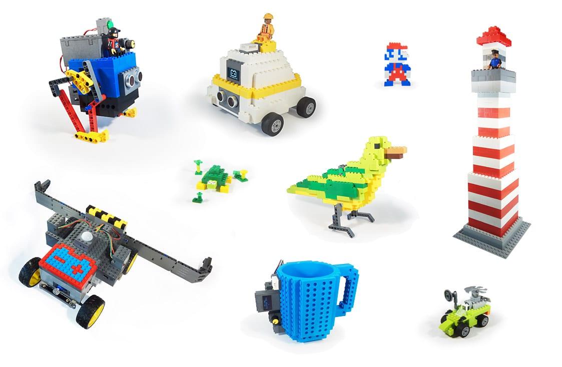 Leguino: LEGO-Bauklötze verschmelzen mit Arduino und Raspberry Pi