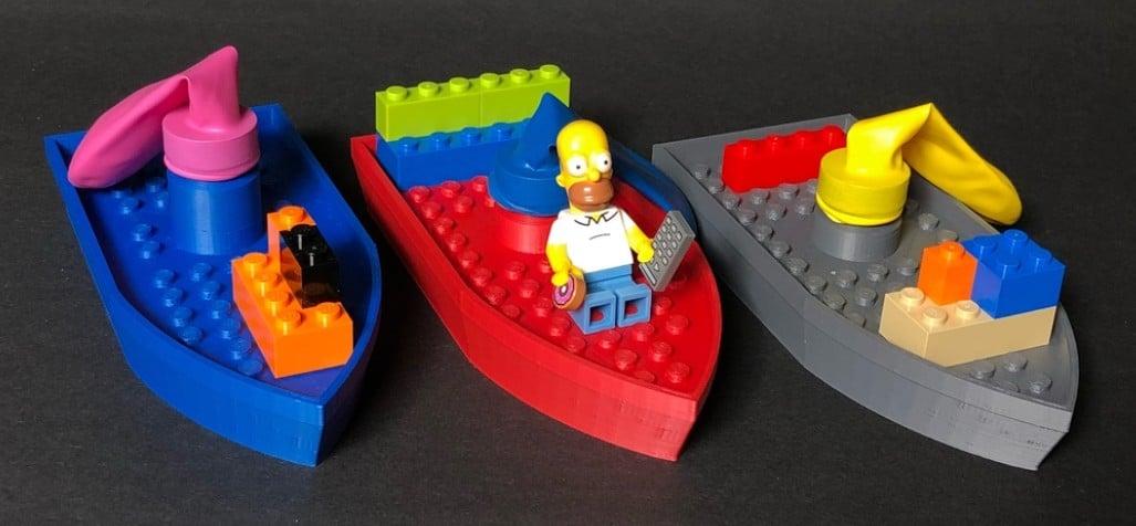 Die Boote können sogar etwas... (Foto: Thingiverse / Keye)
