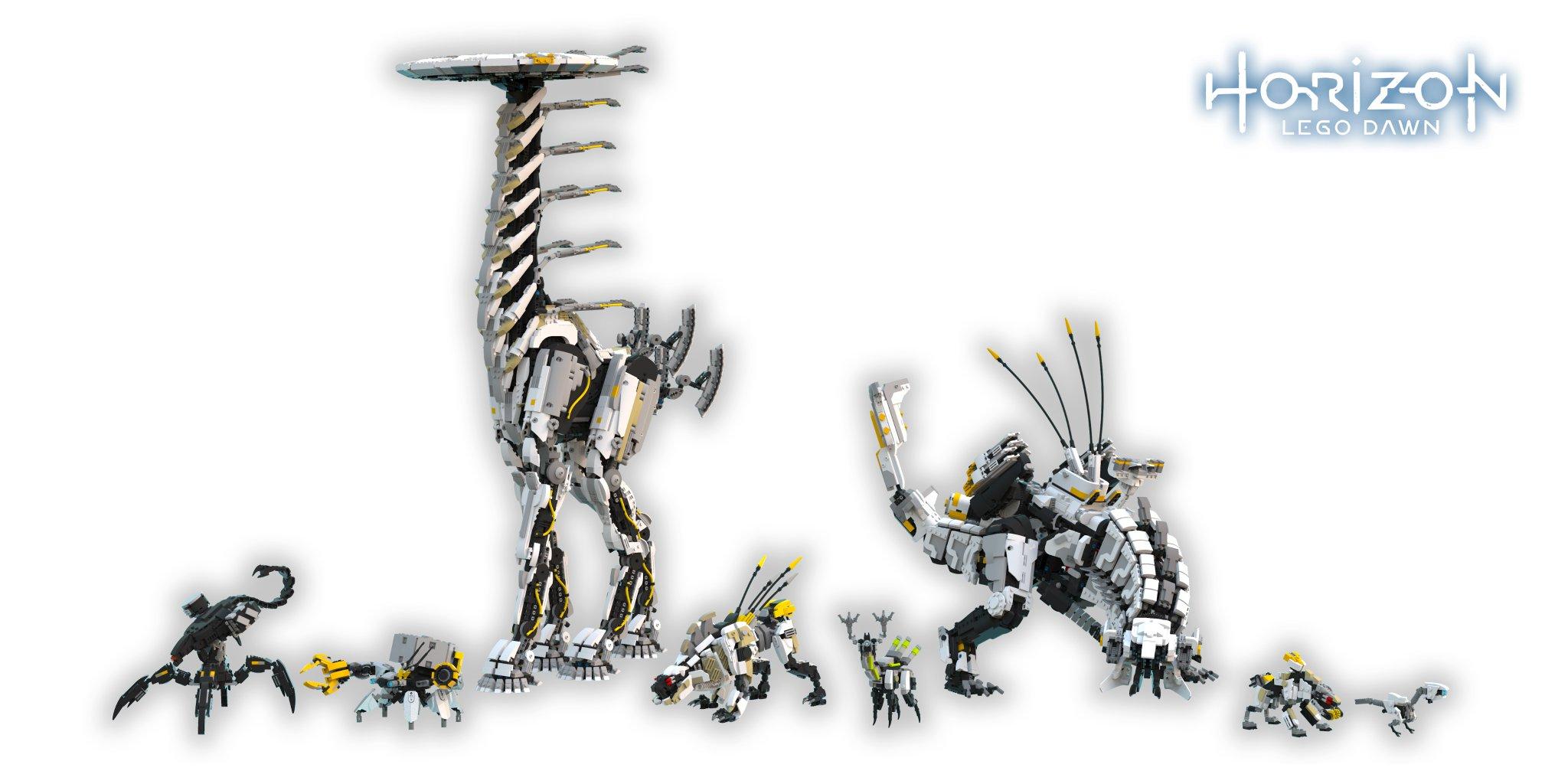 Horizon Zero Dawn: Baut euch Monster aus LEGO nach