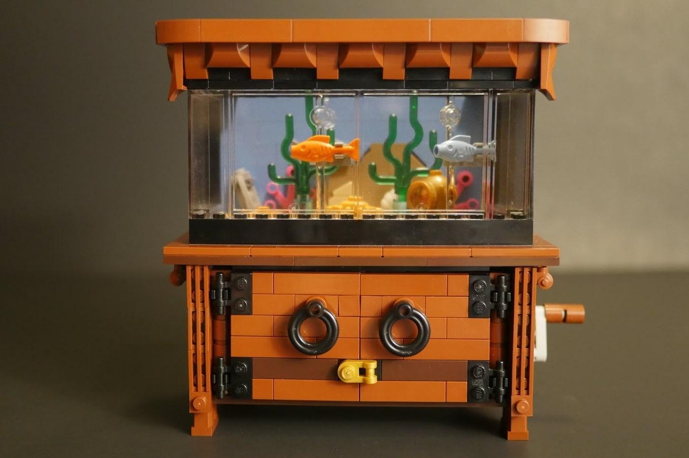 Das LEGO Aquarium hat was zu bieten. (Foto: LEGO Ideas)
