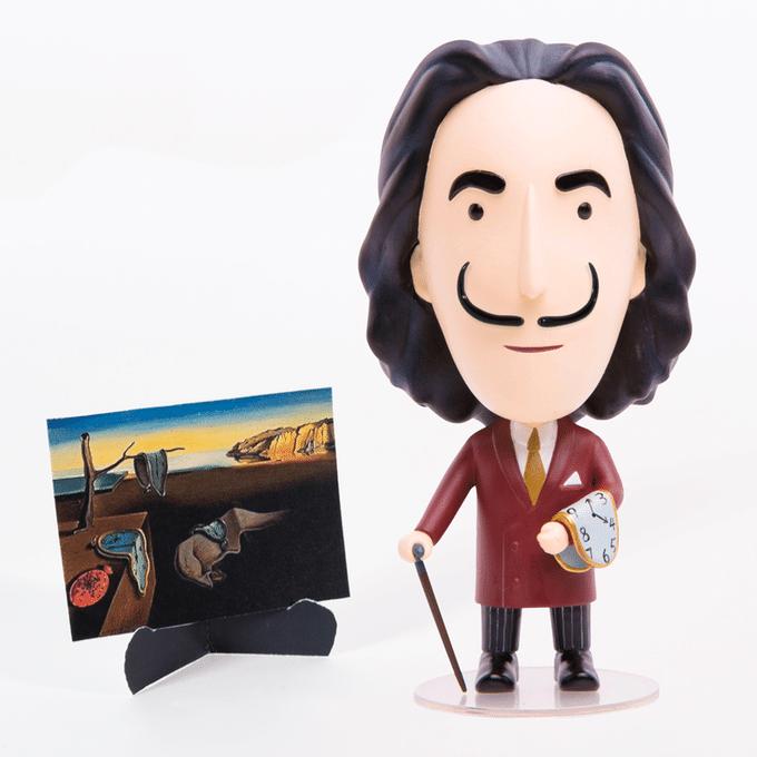 Salvador Dalí Actionfigur: Der legendäre Künstler als Spielzeug