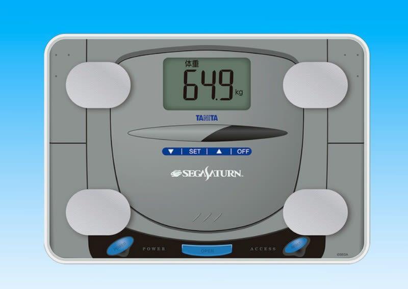 Sega Saturn: Wiedergeburt als….Personenwaage?!