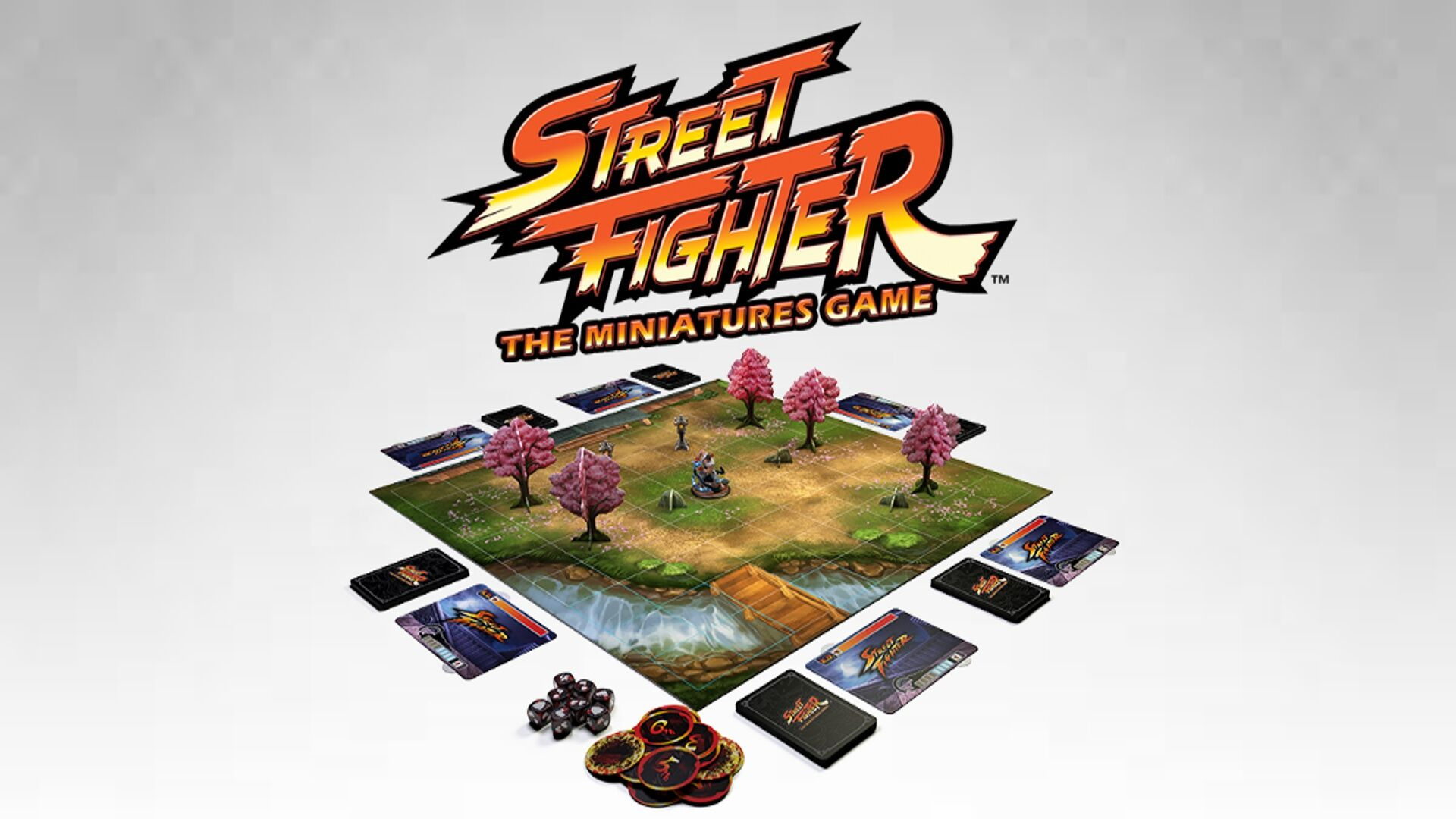 Wie funktioniert Street Fighter als Brettspiel? (Foto: Jasco Games)