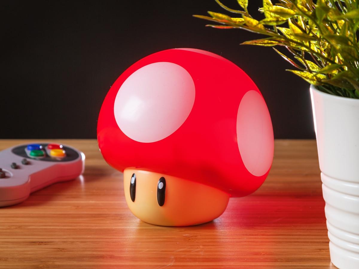 Super Mario Mushroom Light: Bringt den Pilz zum Leuchten